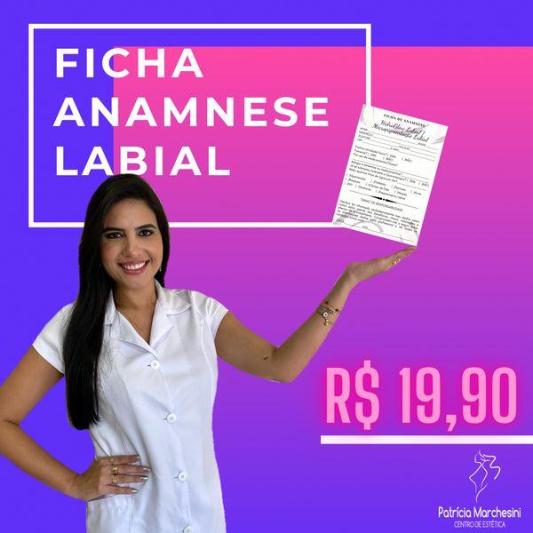 Imagem principal do produto Ficha Anamnese para Micropigmentação e HidraGloss Labial