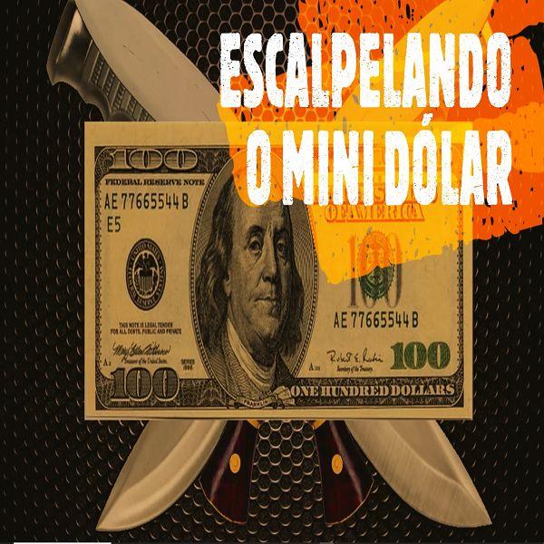 Imagem principal do produto Escalpelando o Mini Dólar - DAY TRADE (SCALP)