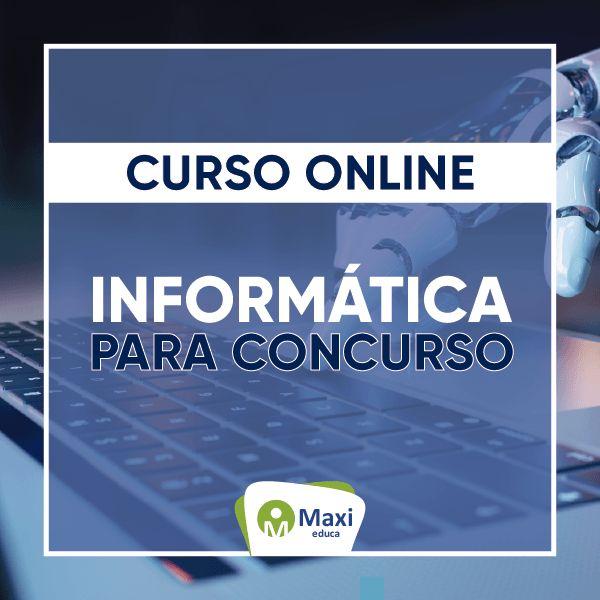 Imagem principal do produto Curso Extensivo - Informática para concurso público