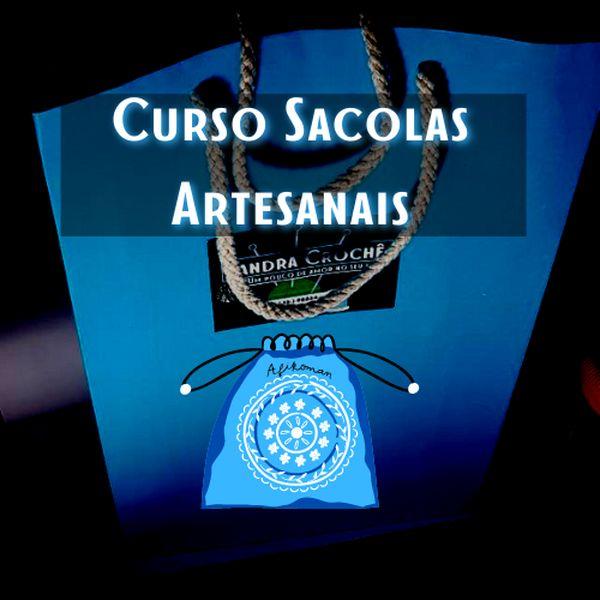 Imagem principal do produto Curso Sacolas Artesanais