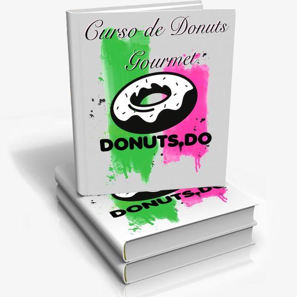 Imagem principal do produto Donuts Do - Curso de Donuts Gourmet