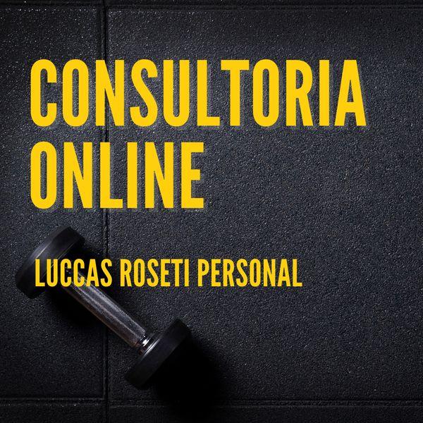 Imagem principal do produto Consultoria Fitness com Luccas Roseti Personal