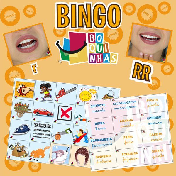 Imagem principal do produto BINGO DE RR – r (entre vogais) Fixação ortográfica CFA