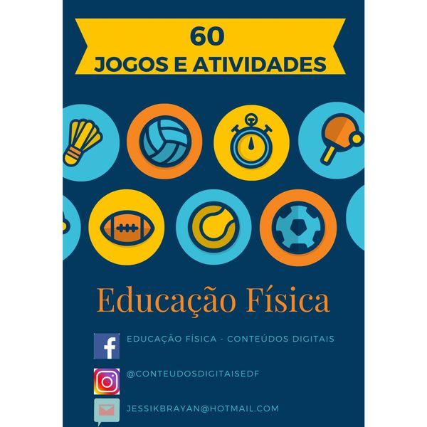 Imagem principal do produto 60 jogos e atividades Educação Física