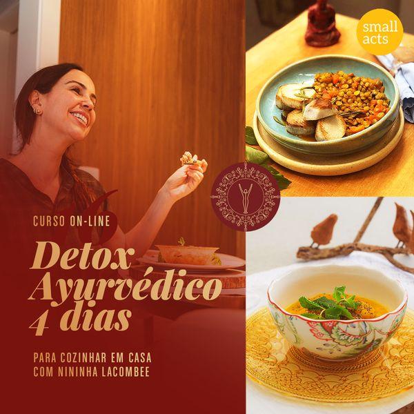 Imagem principal do produto 4 Dias Dieta Detox Ayurvédica