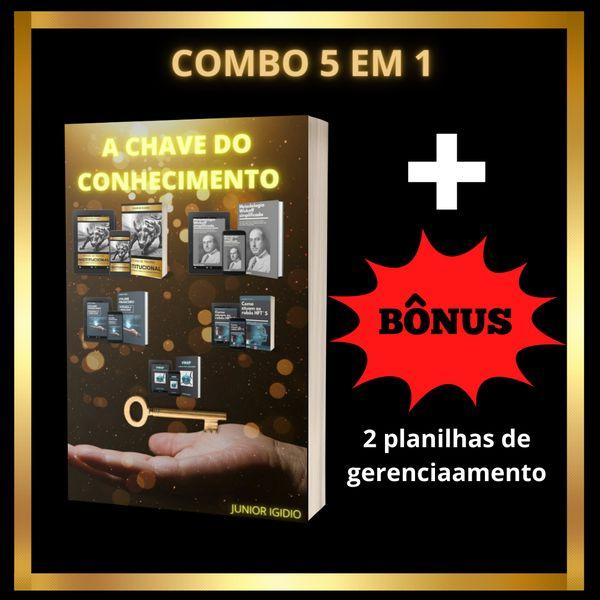 Imagem principal do produto COMBO 5 EM 1 - A chave do conhecimento