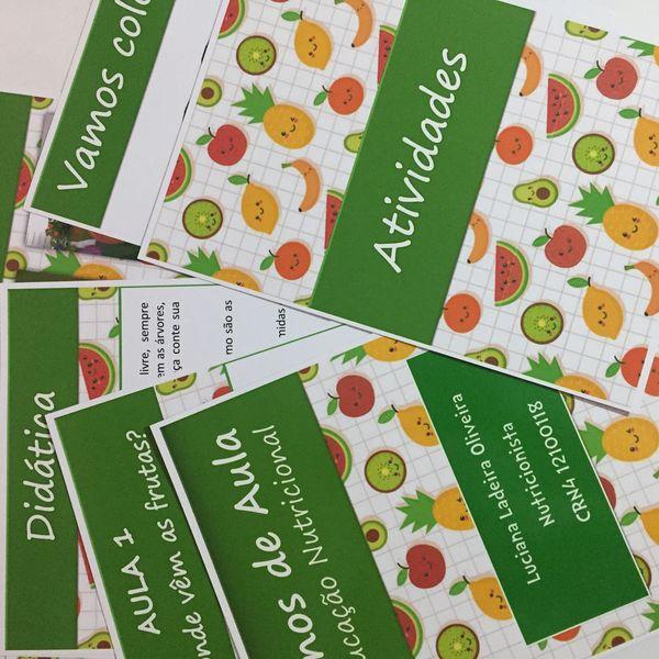Imagem principal do produto Coleção Ebook Frutas