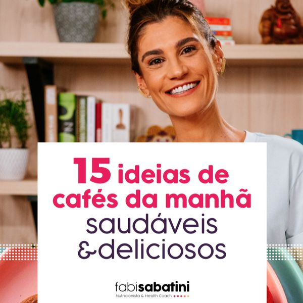 Imagem principal do produto Ebook 22 Receitas de Cafés da Manhã Saudáveis e Nutritivos
