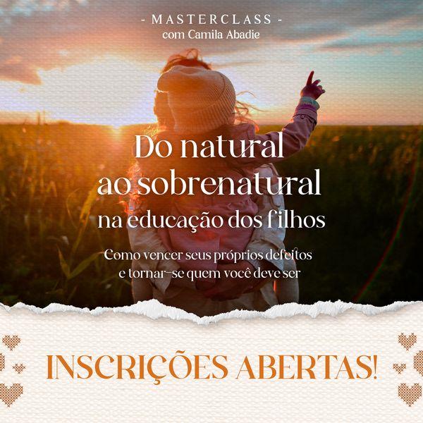 Imagem principal do produto Do natural ao sobrenatural na criação de filhos