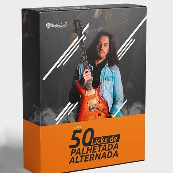 Imagem principal do produto 50 Licks de Palhetada Alternada