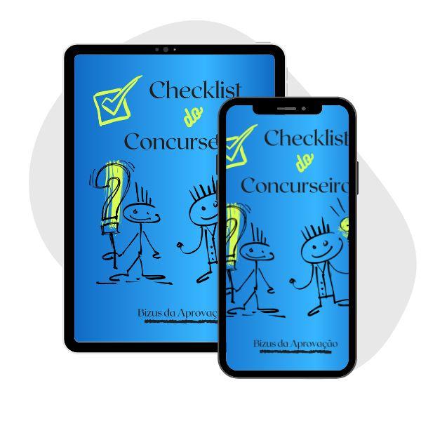 Imagem principal do produto CHECKLIST DO CONCURSEIRO
