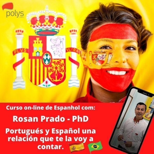 Imagem principal do produto Curso de Espanhol: Portugués y Español una relación que te la voy a contar
