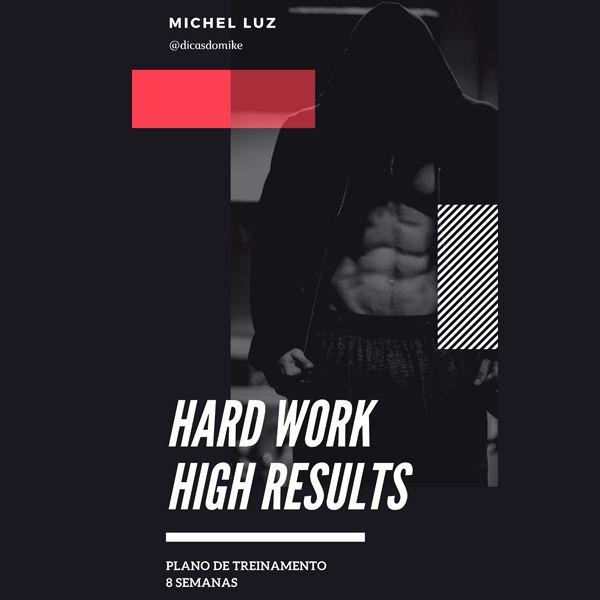 Imagem principal do produto HardWork | High Gains - Plano de Treinamento - 8 semanas (Para Homens)