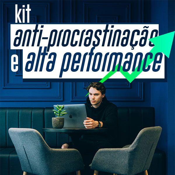 Imagem principal do produto KIT ANTI PROCRASTINAÇÃO E ALTA PERFORMANCE