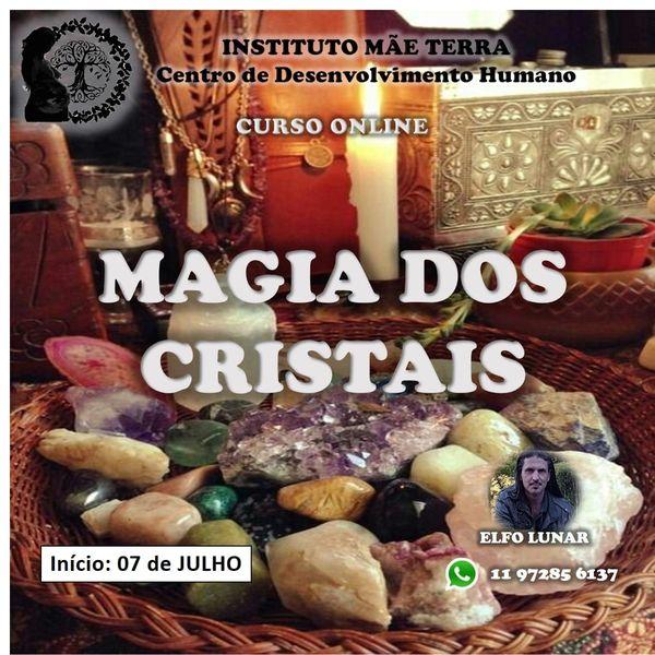 Imagem principal do produto Curso Magia dos Cristais