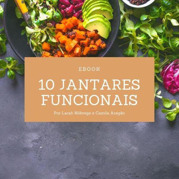 Imagem principal do produto Ebook de 10 Jantares Funcionais