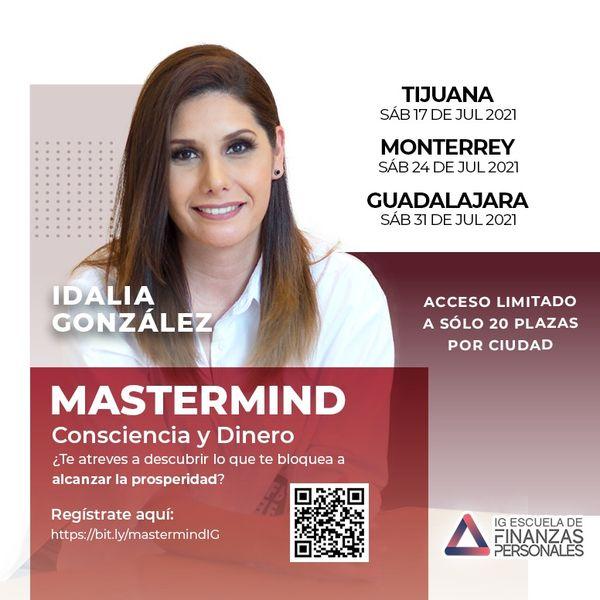 Imagem principal do produto Mastermind Consciencia y Dinero Monterrey