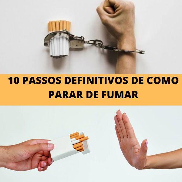 Imagem principal do produto 10 passos para se livrar do vício ao Cigarro