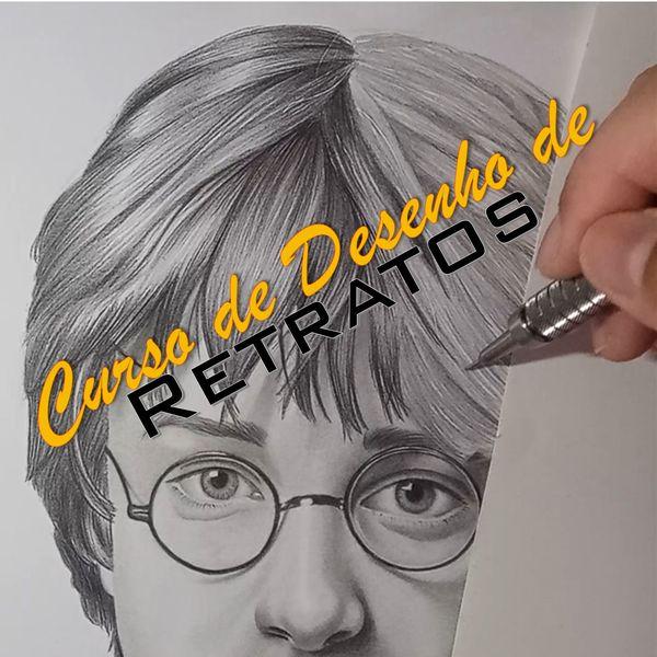 Imagem principal do produto Curso de Desenho de Retratos