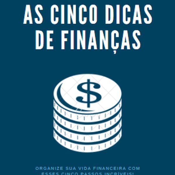 Imagem principal do produto Cinco dicas para economizar o seu dinheiro