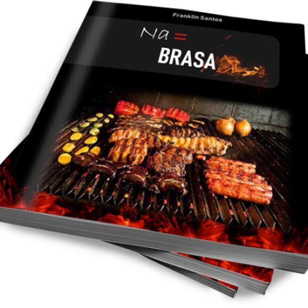 """Imagem principal do produto eBook """"Na BRASA"""""""