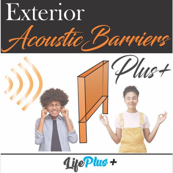 Imagem principal do produto Exterior Acoustic Barriers Plus+