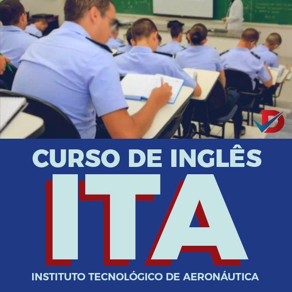 Imagem principal do produto ITA - Curso de Inglês preparatório completo