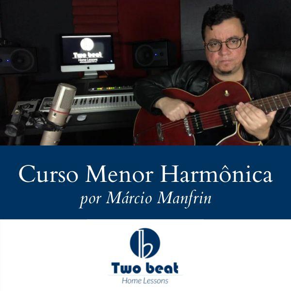 Imagem principal do produto Curso Menor Hamônica / Two Beat Home Lessons