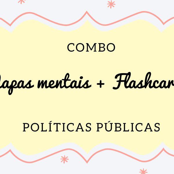 Imagem principal do produto COMBRO MAPAS MENTAIS + FLASHCARDS