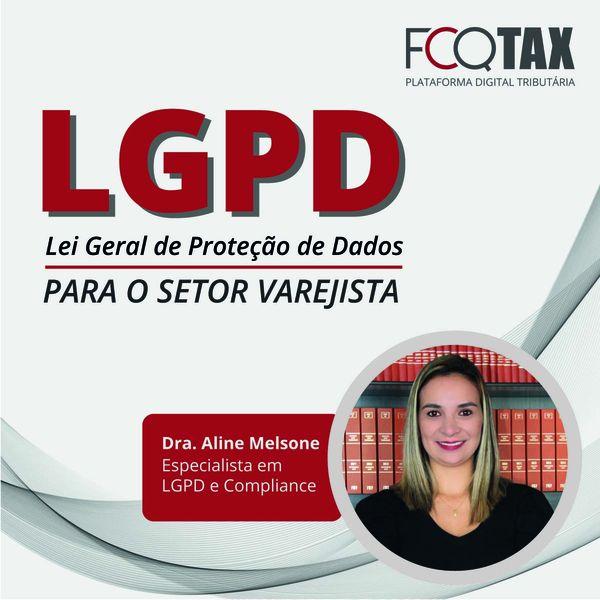 Imagem principal do produto LGPD - Lei Geral de Proteção de Dados para o Setor Varejista