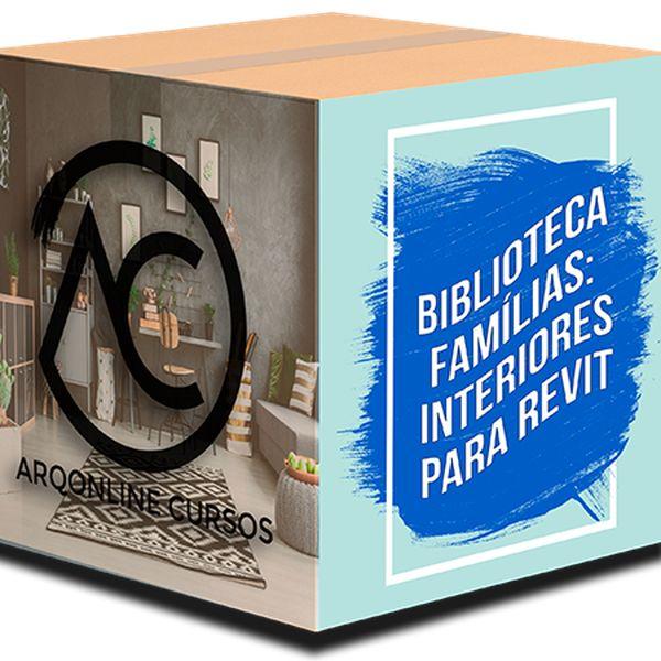 Imagem principal do produto Biblioteca Famílias Revit - Interiores