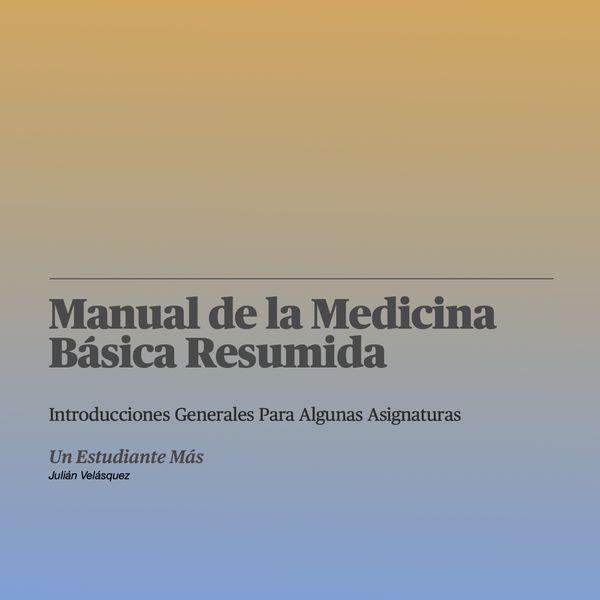 Imagem principal do produto Manual de la Medicina Básica Resumida