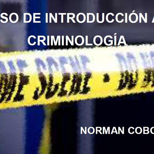 Imagem principal do produto CURSO DE INTRODUCCIÓN A LA CRIMINOLOGÍA