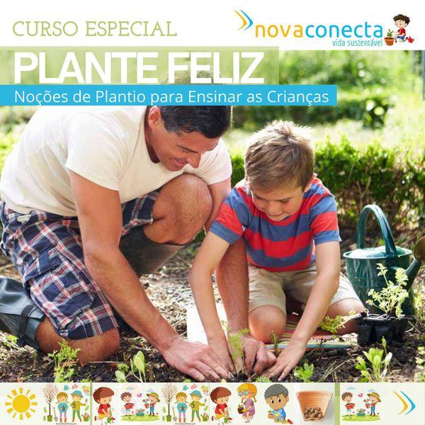 Imagem principal do produto CURSO PLANTE FELIZ