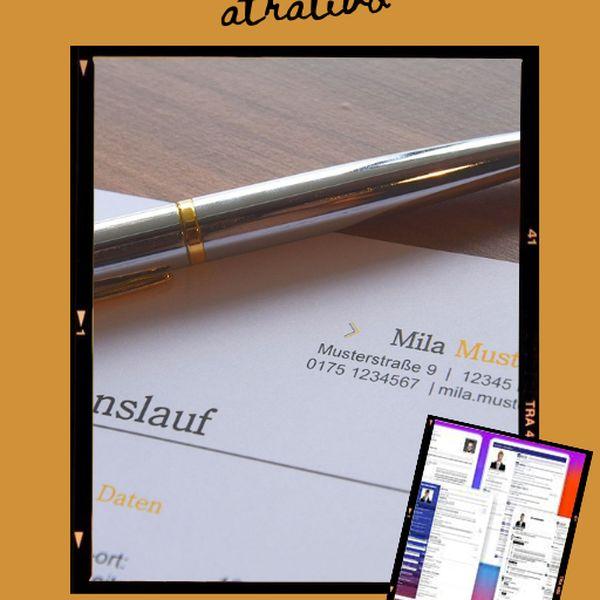 Imagem principal do produto Aprenda Criar Currículos Personalizados e Atrativos