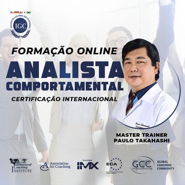 Imagem principal do produto Formação Online Analista Comportamental