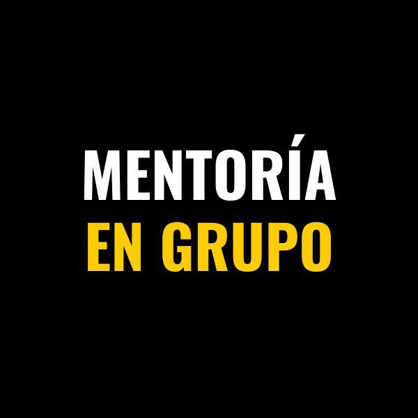 Imagem principal do produto Mentoría En Grupo