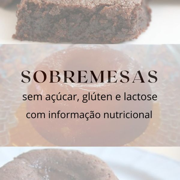 Imagem principal do produto EBOOK SOBREMESAS DIET