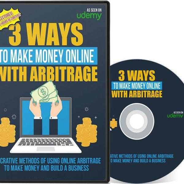 Imagem principal do produto 3 Ways To Make Money Online With Arbitrage