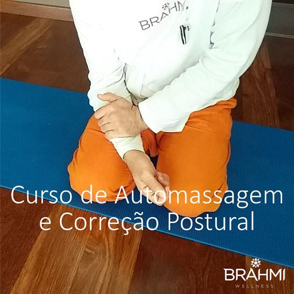 Imagem principal do produto Curso de Automassagem e Correção Postural Brahmi