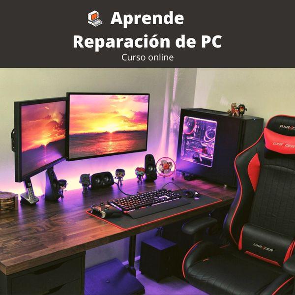 Imagem principal do produto Curso de Reparación de PC - Reparando