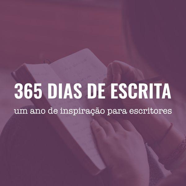 Imagem principal do produto 365 dias de escrita - um ano de ideias para você escrever