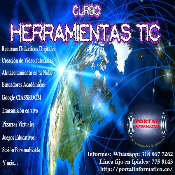 Imagem principal do produto CURSO HERRAMIENTAS TIC PARA LA EDUCACIÓN