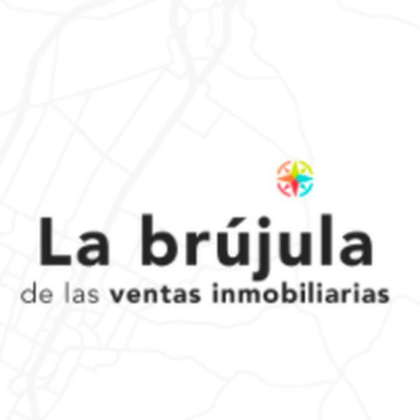 Imagem principal do produto La brújula de las ventas inmobiliarias.