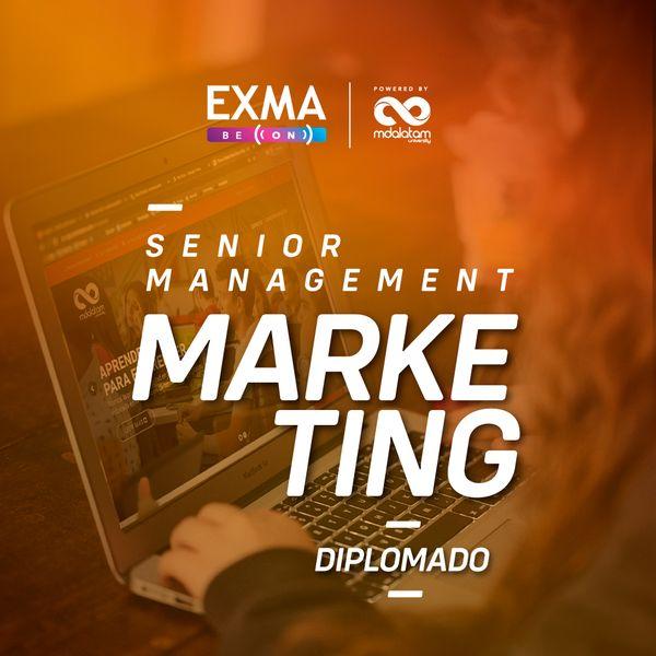 Imagem principal do produto Diplomado Senior Management Marketing Exma | Powered by MDALatam
