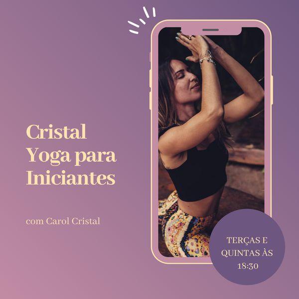 Imagem principal do produto Aulas de Yoga para Iniciantes com Carol Cristal