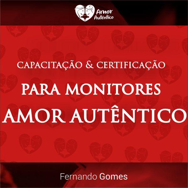 Imagem principal do produto Capacitação e Certificação para Monitores Amor Autêntico
