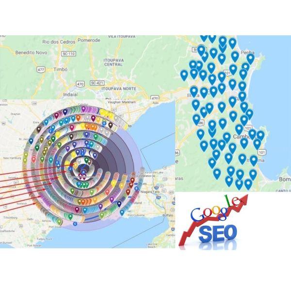 Imagem principal do produto 50 citações locais no Google Maps