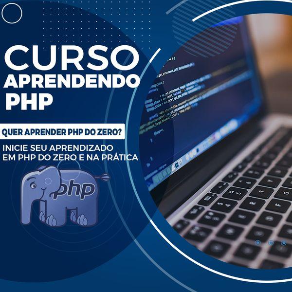 Imagem principal do produto Aprenda programar em PHP