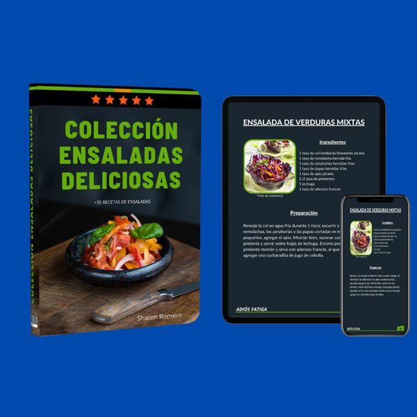 Imagem principal do produto Colección ensaladas deliciosas
